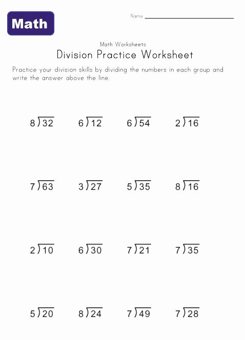 Division Worksheets for Grade 2 Fresh Simple Division Worksheets Worksheets It Homework Help Free