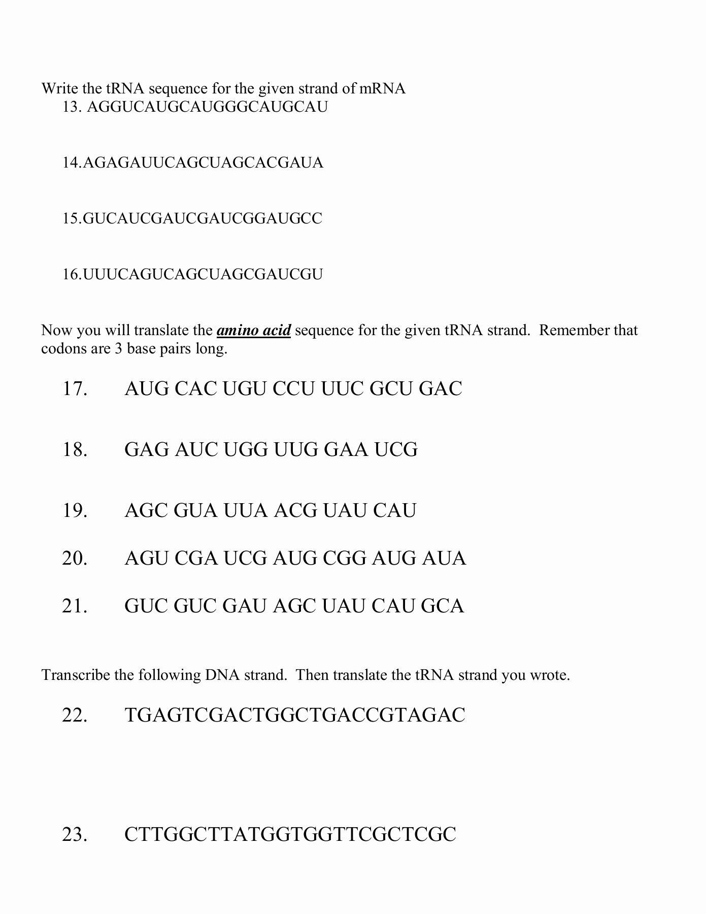 Dna Base Pairing Worksheet Answers Kids Paring Number Worksheet