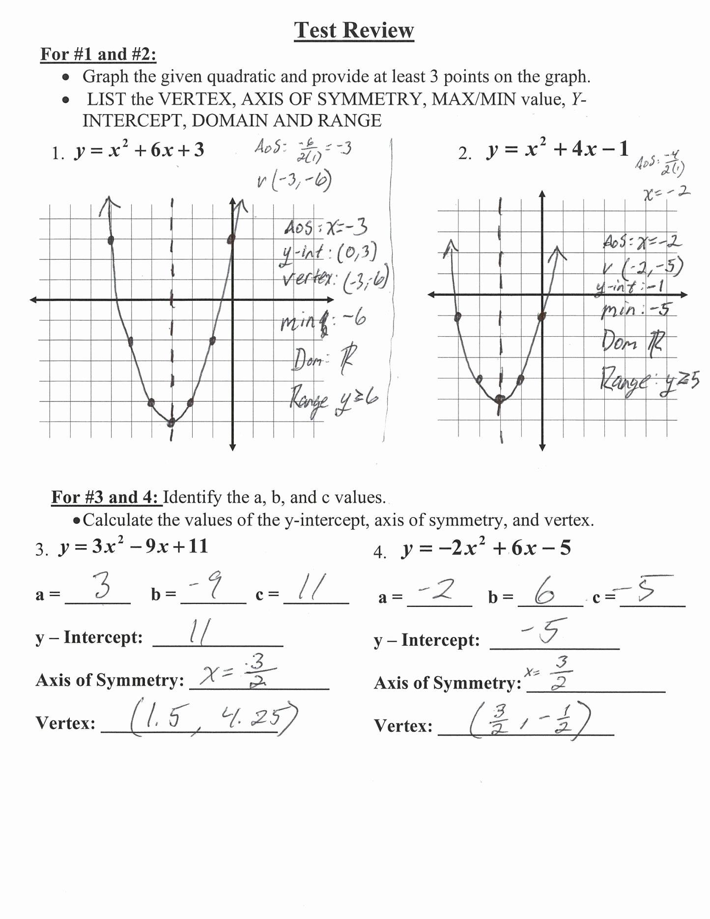 Domain and Range Practice Worksheet Kids Math Worksheet 3 Domain and Range