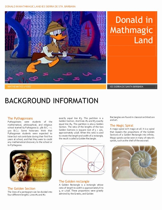 Donald In Mathmagic Land Worksheet Ideas Donald In Mayhmagic Land