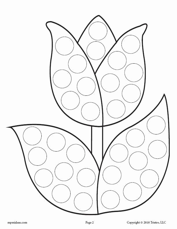 Dot to Dot Art Printables top 12 Spring Do A Dot Printables