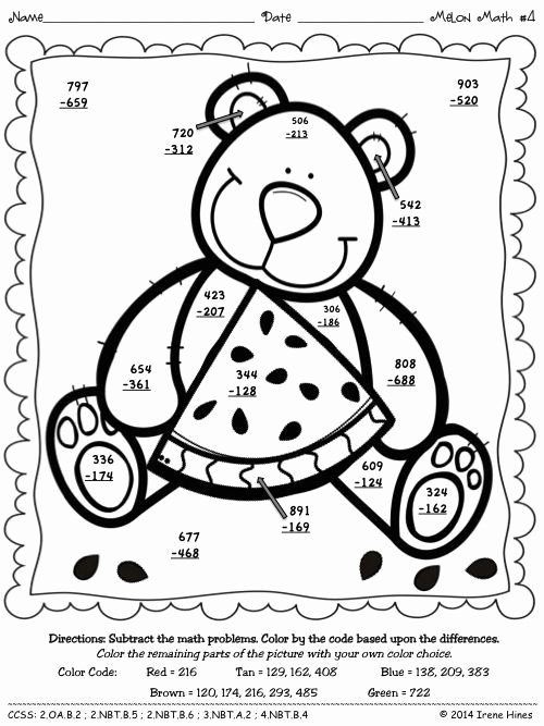Double Digit Addition Coloring Worksheets Inspirational 3 Digit Addition with Regrouping Coloring