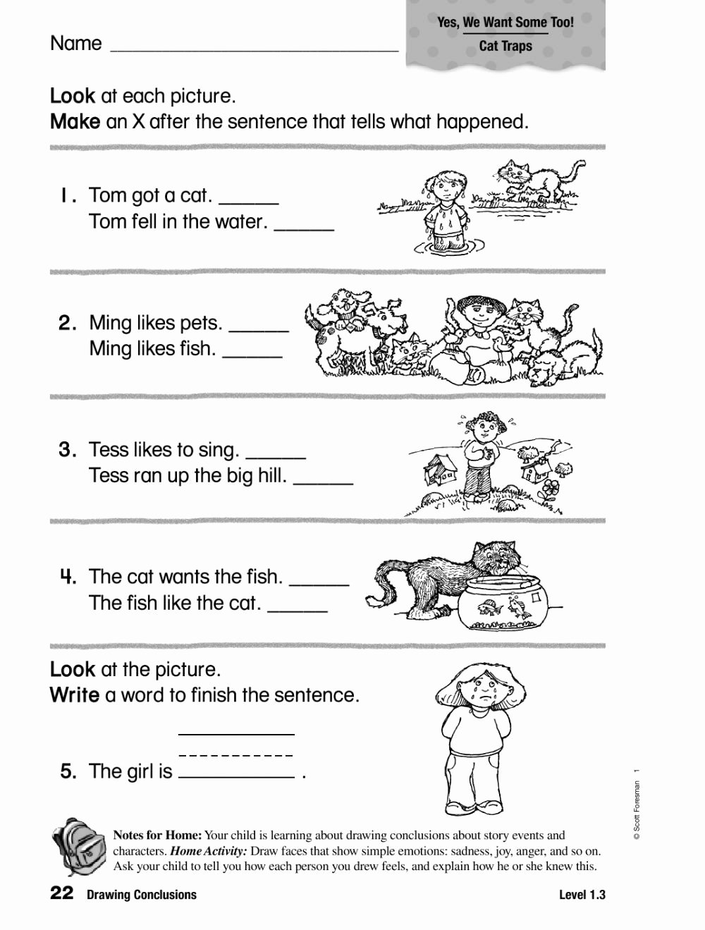 Drawing Conclusions Worksheets 4th Grade Inspirational Drawing Conclusion Worksheets 3rd Grade