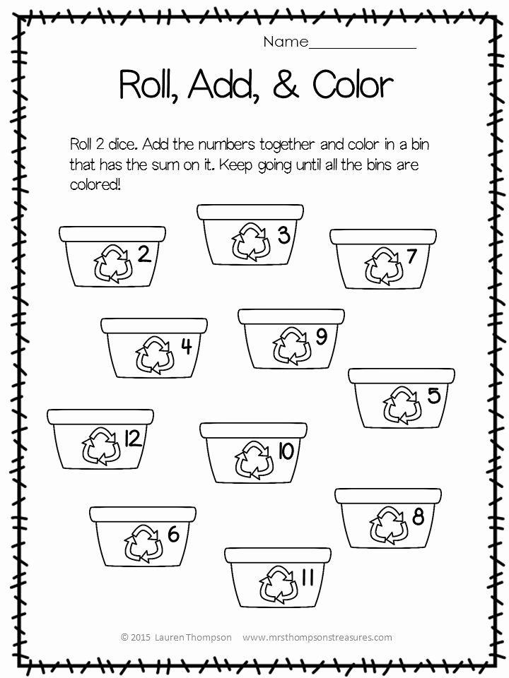 Earth Day Worksheets for Kindergarten Lovely Free Earth Day Printable Activities