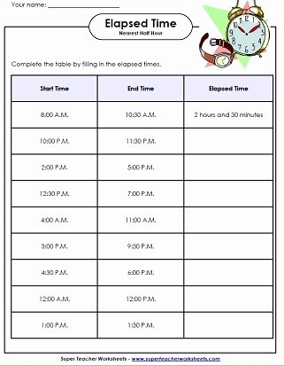 Elapsed Time Worksheets 3rd Grade Ideas Elapsed Time Worksheets Math Time Worksheets