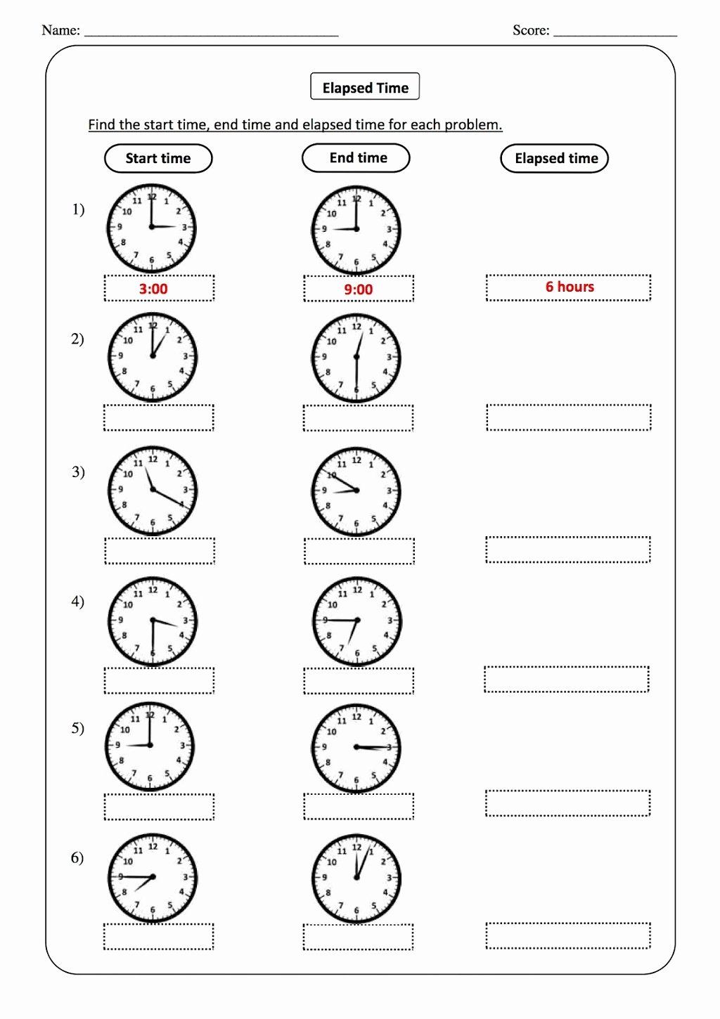 Elapsed Time Worksheets 3rd Grade Inspirational Worksheet Free Printable Time Worksheets for Grade Clock