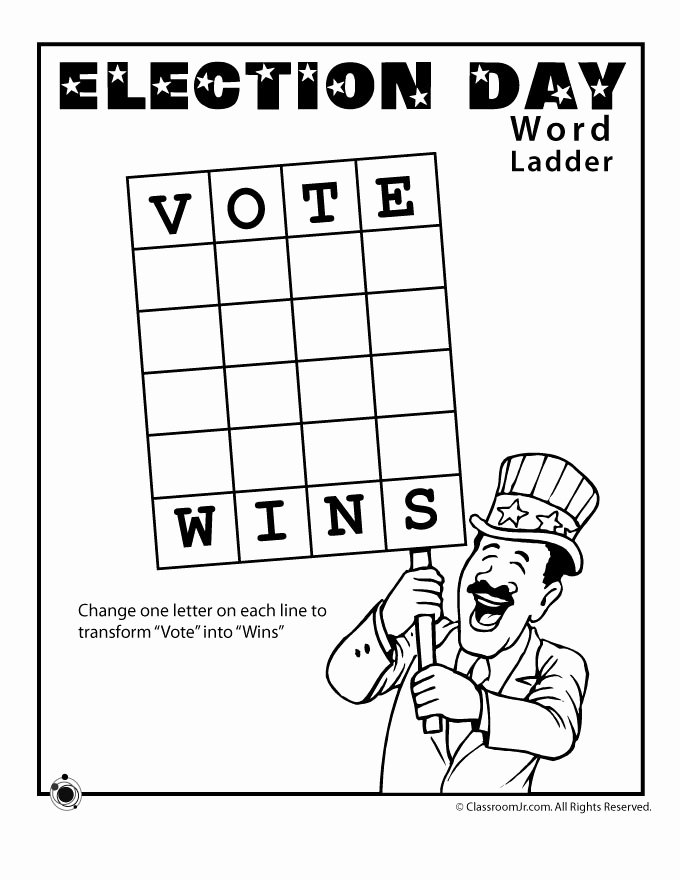 Election Worksheets for Elementary Students Best Of Election Worksheets for Kids