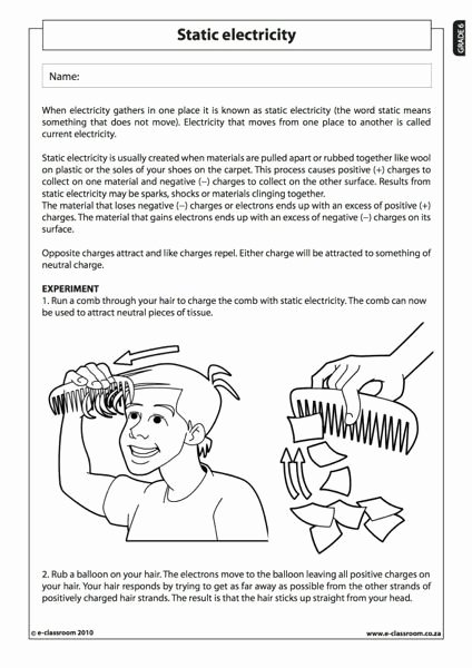 Electricity Worksheets for Middle School Free Members Ly E Classroom