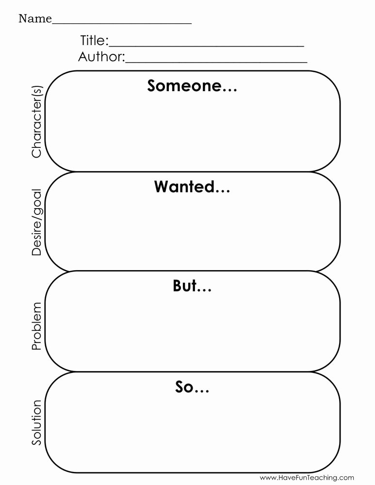 Elements Of A Story Worksheet Free Story Elements Reading Graphic organizer Worksheet