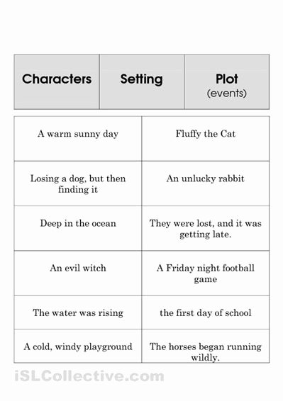 Elements Of A Story Worksheet Fresh Image Result for Elements Of A Story Worksheet