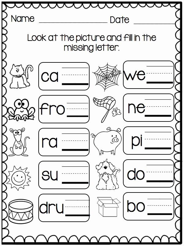 Ending sounds Worksheets for Kindergarten Best Of Help Me sound It Out Small Group Games that Help with