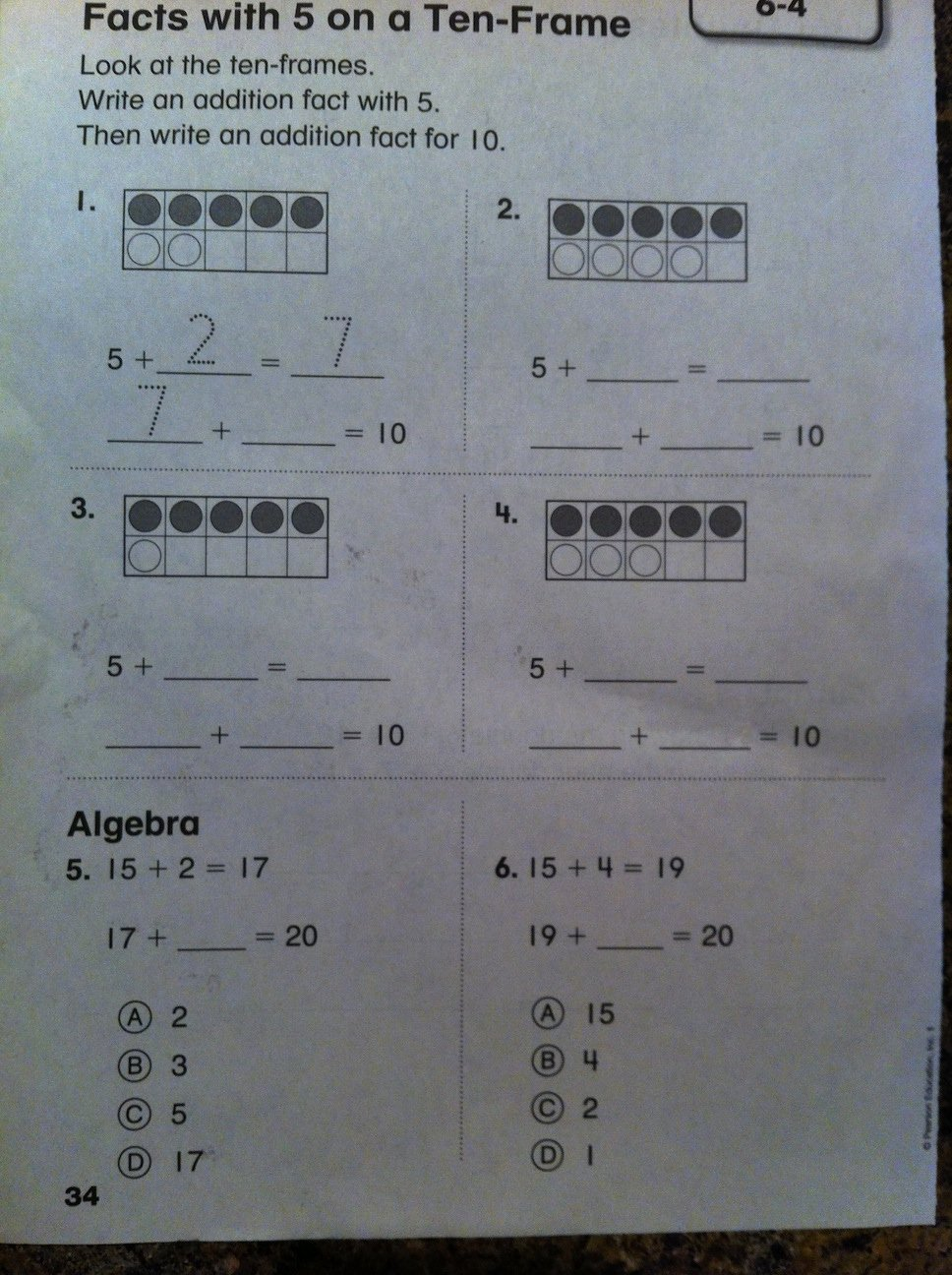 Envision Math 1st Grade Worksheets Best Of Pearson Casting Out Nines Education First Grade Math