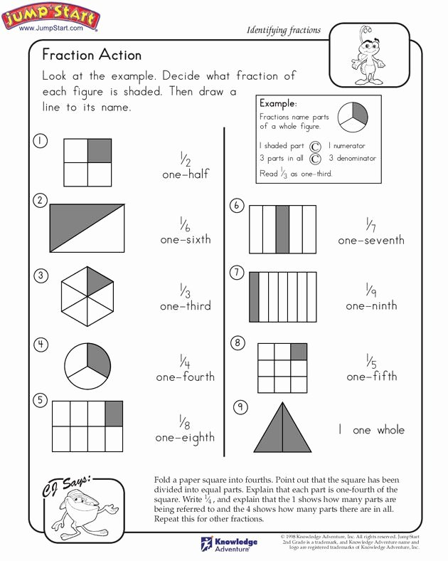 Envision Math 2nd Grade Worksheets Ideas Fraction Action 2nd Grade Math Worksheets Pearson Education