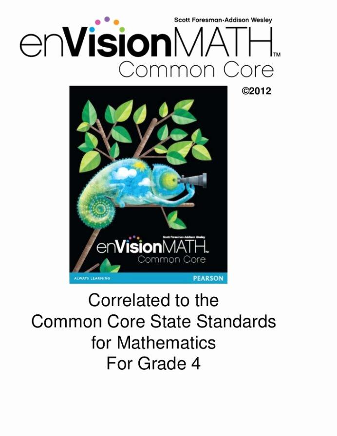 Envision Math 4th Grade Worksheets top Envision Math Mon Core Grade Worksheets Free