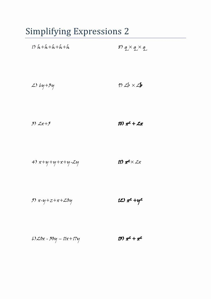 Equivalent Expressions Worksheet 6th Grade Ideas Pin On Worksheet Templates for Student