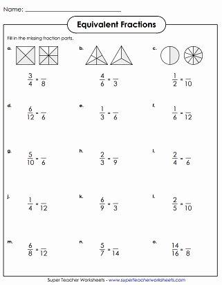 Equivalent Fraction Worksheets 5th Grade Printable Equivalent Fractions & Simplifying Fractions Worksheets