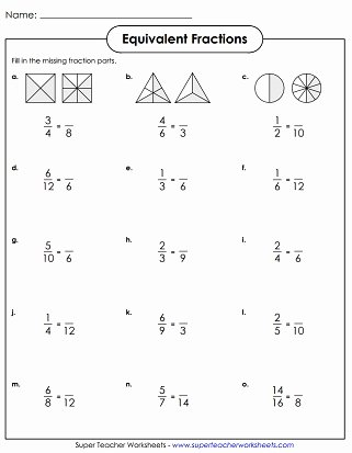 Equivalent Fractions Worksheets 5th Grade Fresh Equivalent Fractions & Simplifying Fractions Worksheets