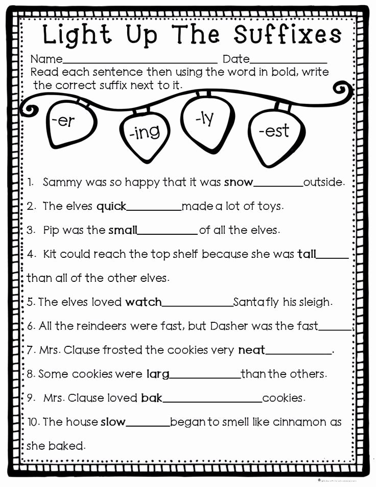 Er Est Worksheets 2nd Grade Best Of How to Survive the Winter Holidays as A Teacher
