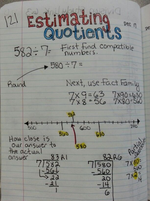 Estimating Quotients Worksheets 5th Grade Free Estimating Quotient and Division Practice