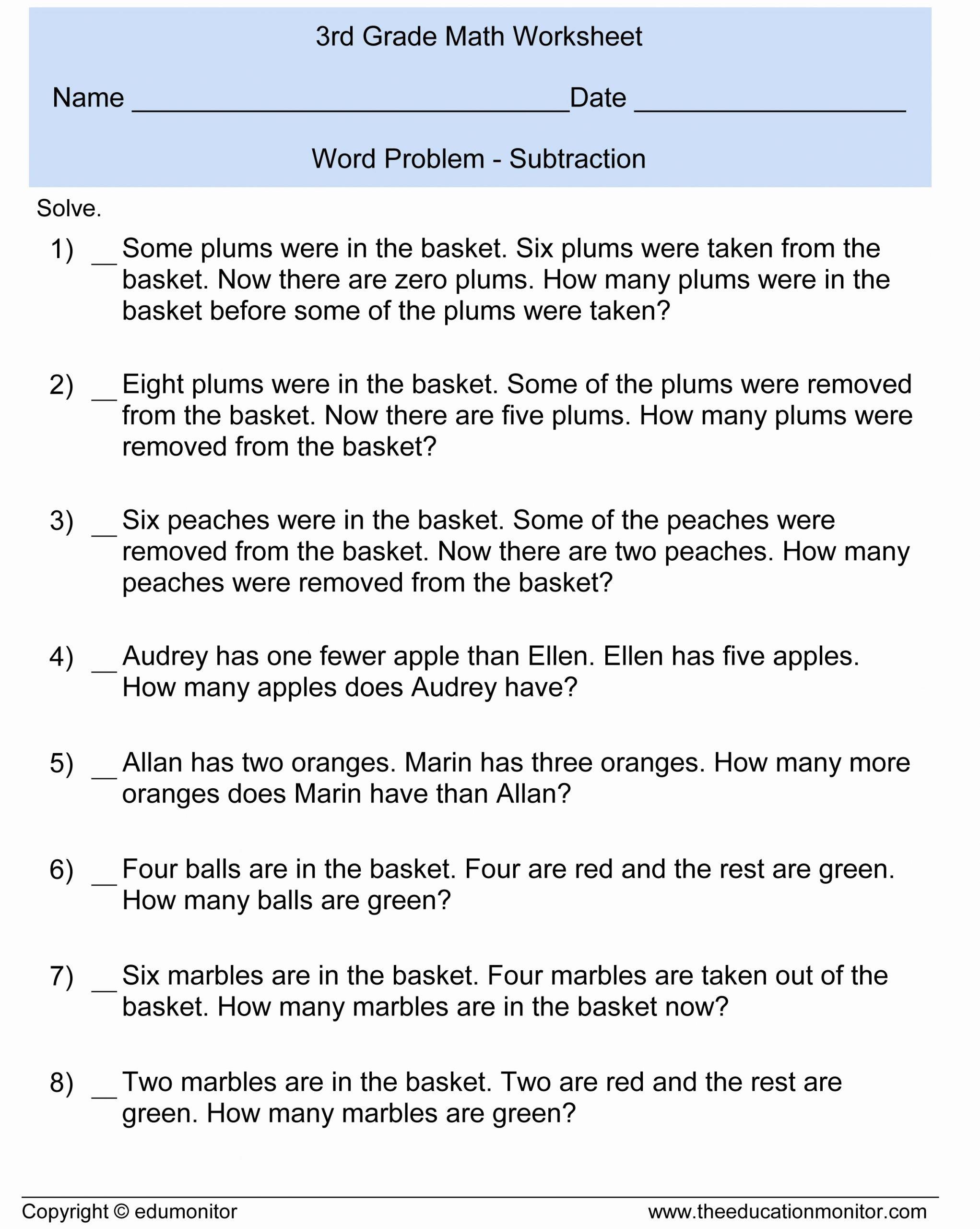 Estimating Word Problems 3rd Grade Fresh Estimating Sums Worksheet