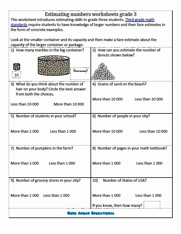 Estimation Worksheets for 3rd Grade top Rounding Nearest 10 100 Lessons Tes Teach