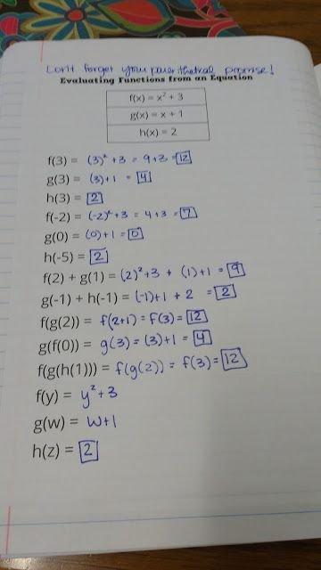 Evaluating Functions Worksheet Algebra 1 Free Evaluating Functions From Equations Last