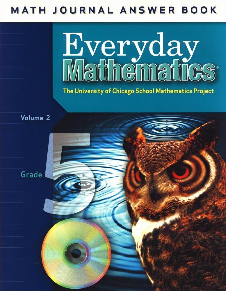 Everyday Mathematics Grade 5 Worksheets Fresh Everyday Mathematics Math Journal Answer Book Grade 5