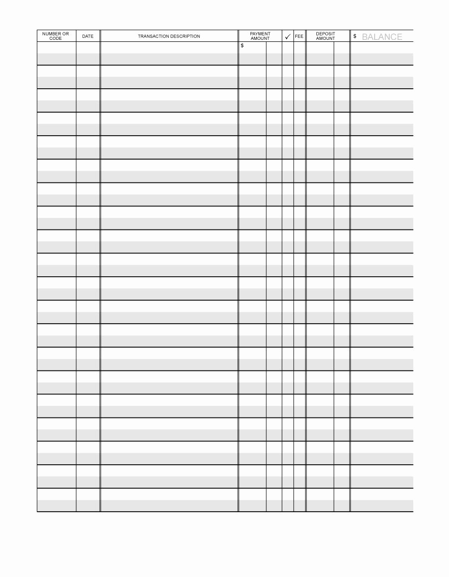 Excel Checkbook Register Budget Worksheet Free Checkbook Register Templates Free Printable Spreadsheet