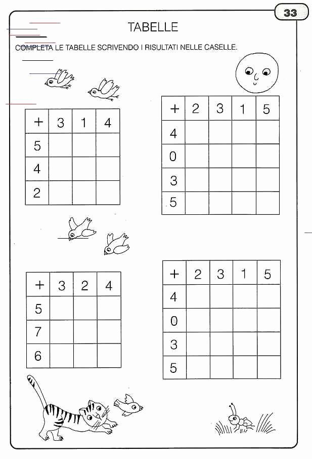 Expanded form Worksheets 1st Grade Fresh Le Addizioni Blog In 2020