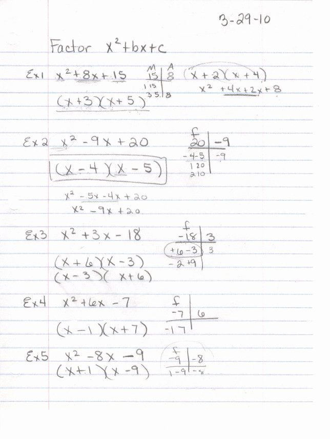 Factoring Ax2 Bx C Worksheet Best Of 28 Factoring Ax2 Bx C Worksheet Worksheet Resource Plans