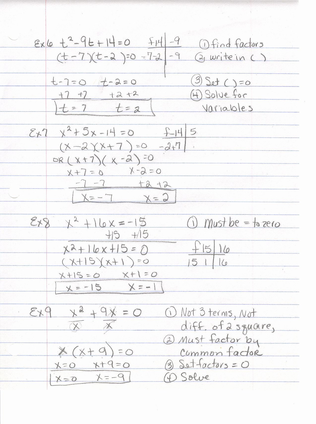 Factoring Ax2 Bx C Worksheet Printable Factoring X2 Bx C Worksheet Answers