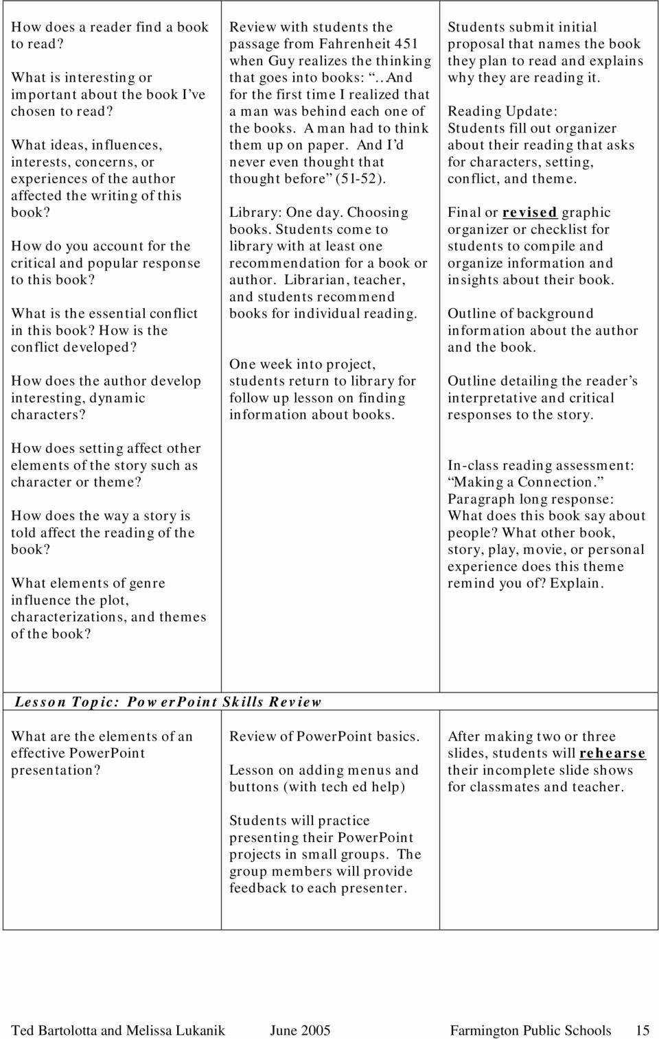 Fahrenheit 451 Literary Devices Worksheet Inspirational Literature and the Human Experience Fahrenheit 451 and