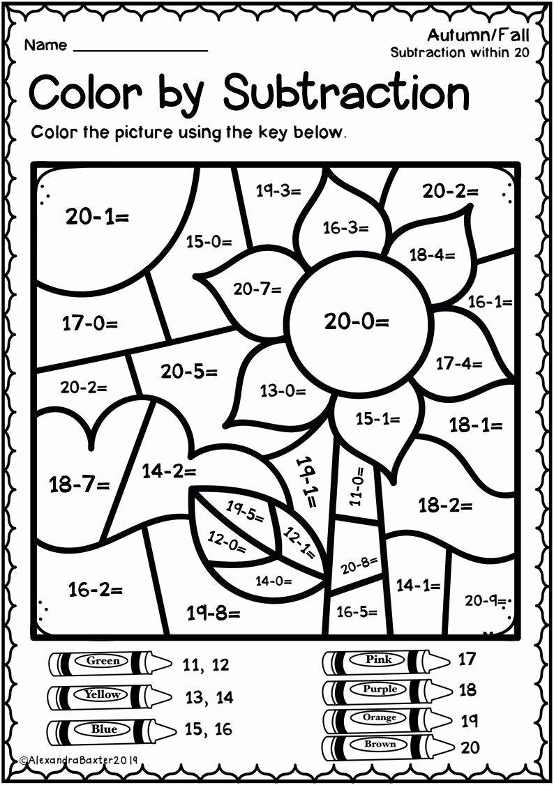 Fall Math Worksheets 2nd Grade Kids Pin On Free Printable Math Worksheets