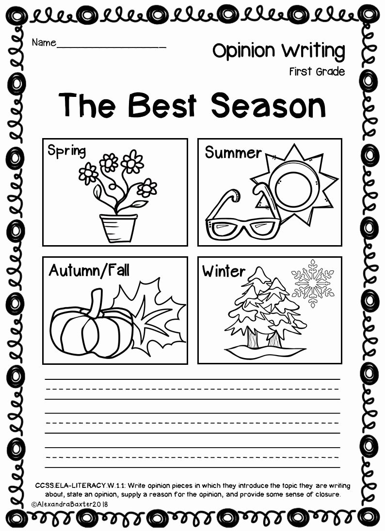 Fall Worksheets for First Grade Free Worksheet Worksheet First Grade Opinionriting