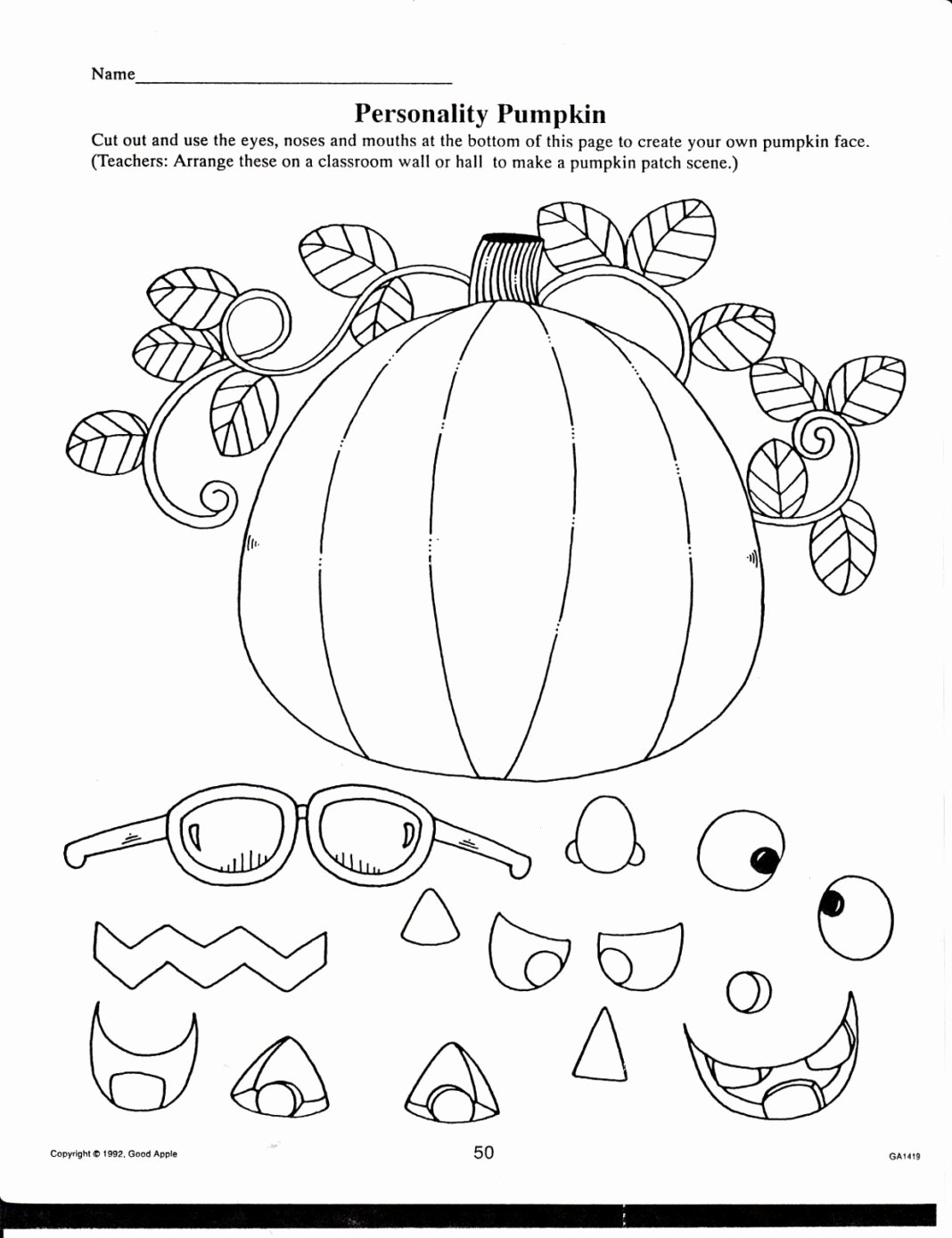 Fall Worksheets for First Grade Kids Worksheets Best Free Fall Printables for