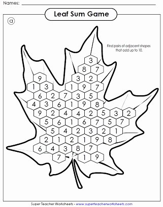 Fall Worksheets for First Grade Printable Autumn Worksheets