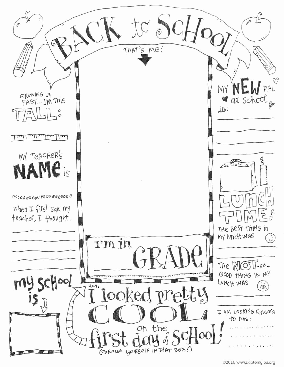 First Day Of School Worksheet Free First Day Of School Coloring Pages Updated with Virtual