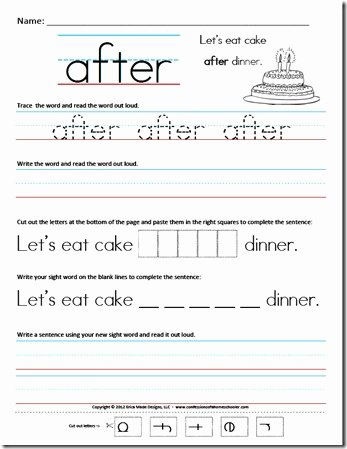 First Grade Sight Word Worksheets Kids First Grade Sight Word Sentences Confessions Of A Homeschooler