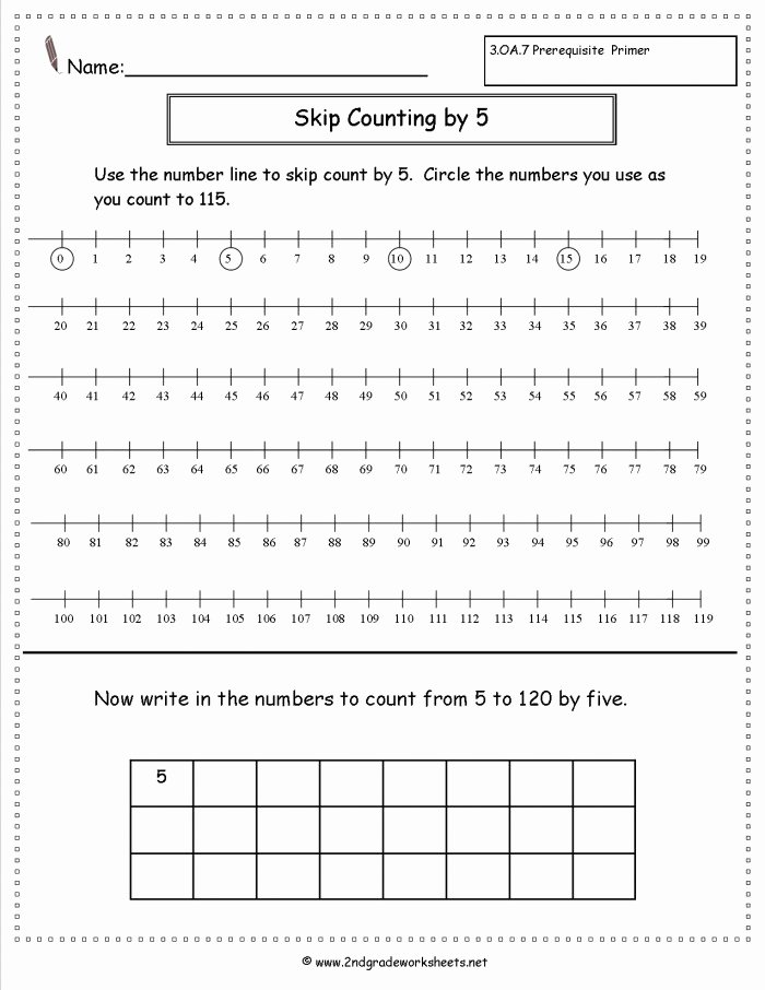 First Grade Skip Counting Worksheets Inspirational Skip Counting Practice Worksheets