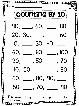 First Grade Skip Counting Worksheets Lovely First Grade Math Unit 11 Paring Numbers Skip Counting and