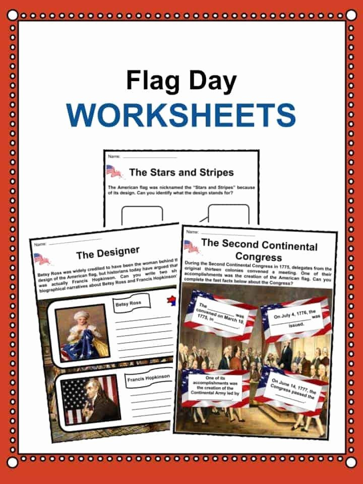 Flag Day Reading Comprehension Worksheets Ideas Flag Day Facts Worksheets & Historical Information for Kids