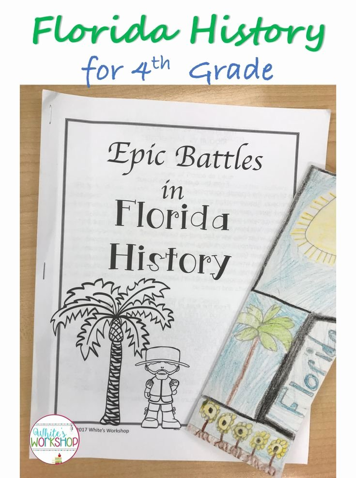 Florida History Worksheets 4th Grade Printable Fourth Grade Florida History Lessons and Activities for