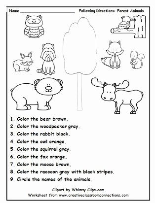 Following 2 Step Directions Worksheets Printable Following Directions Drawing Activities Free