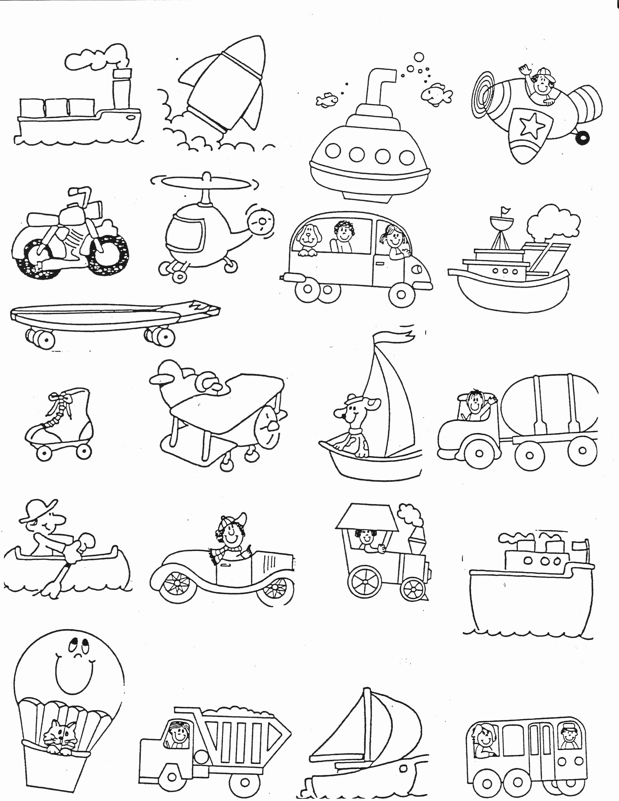 Force and Motion Kindergarten Worksheets Best Of Transportation Kindergarten Nana force and Motion Worksheets