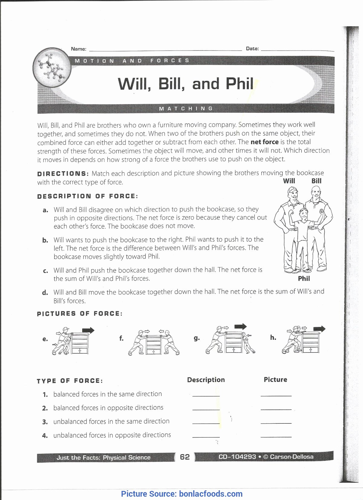 Force and Motion Printable Worksheets Inspirational Excellent 3rd Grade Lesson Plans force and Motion 5th