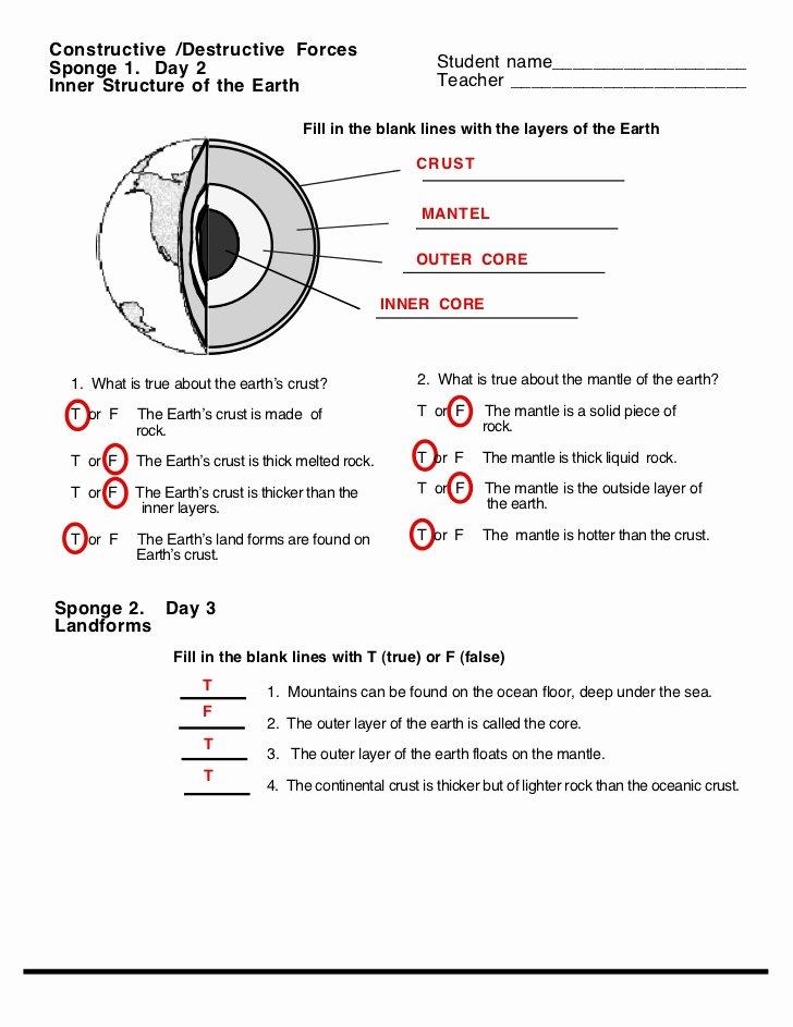 Forces Worksheet 1 Answer Key Best Of Destruct forces Worksheet Answers