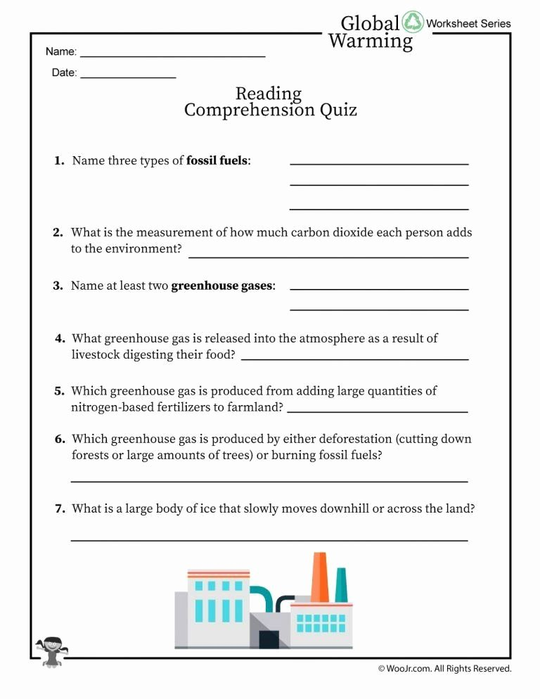 Fossil Fuels Worksheet Middle School top Fossil Fuels Worksheet Middle School the Science Global