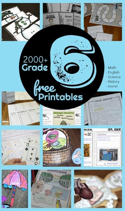 Free 6th Grade Science Worksheets top Free 6th Grade Worksheets