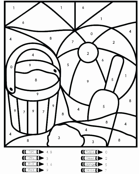 Free Color by Numbers Worksheets Free Coloring Pages Kindergartenr by Number Worksheetring Pages