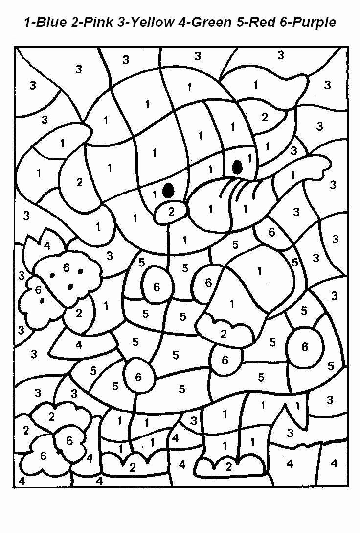 Free Color by Numbers Worksheets Fresh Worksheet Fb0a187ee31c47dfe5673fff67d7e353 18new Color by